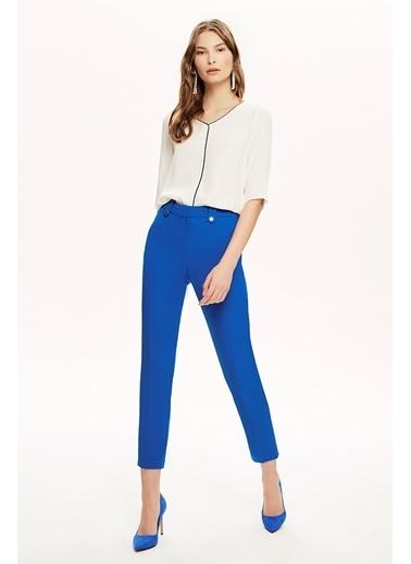 NaraMaxx Bilek Boy Klasik Pantolon Mavi